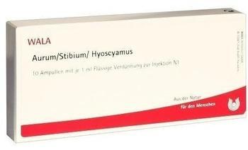 Wala-Heilmittel Aurum/Stibium/Hyoscyamus Ampullen (10 x 1 ml)