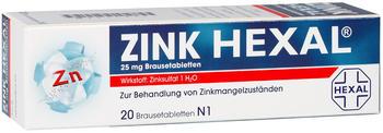 Zink Brausetabletten (20 Stk.)
