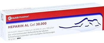 Aliud HEPARIN AL GEL 30000 40 g