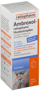 Ratiopharm Ambroxol-ratiopharm Hustentropfen 100 ml