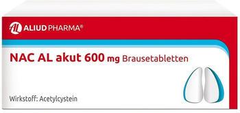 NAC AL Akut 600 mg Brausetabletten (20 Stk.)