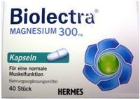 Biolectra Magnesium 300 mg Kapseln 40 St.