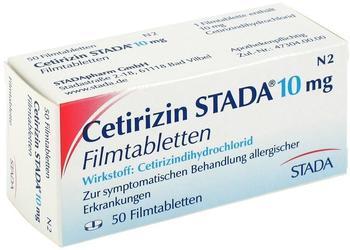 STADA CETIRIZIN STADA 10 mg Filmtabletten 50 St.