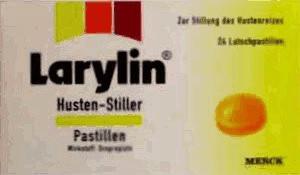 Larylin Husten Stiller Pastillen (24 Stk.)