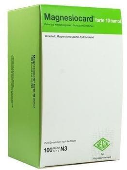 Magnesiocard forte 10 mmol Pulver (100 Stk.)