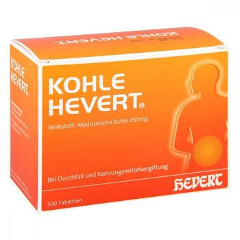Hevert KOHLE HEVERT Tabletten 300 St.