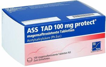 TAD Pharma ASS TAD 100mg protect Filmtabletten 100 St.