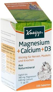 Kneipp Magnesium + Calcium Tabletten (150 Stk.)