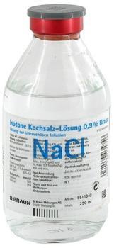 B. Braun Kochsalzlösung 0,9% Glasfl. (250 ml)