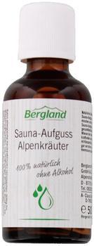 Bergland Sauna Aufguss Konzentrat Alpenkräuter (50 ml)