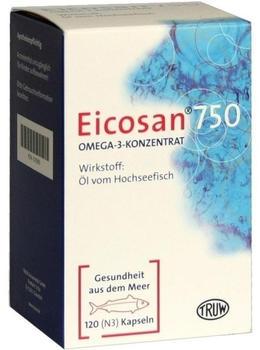 Eicosan 750 Omega-3-Konzentrat Kapseln (120 Stk.)