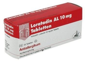 Loratadin Al 10 mg Tabletten (50 Stk.)