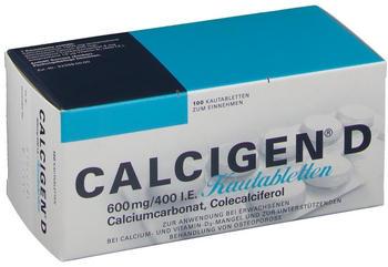 Calcigen D Kautabletten (100 Stk.)