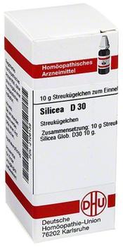 DHU Silicea D 30 Globuli (10 g)