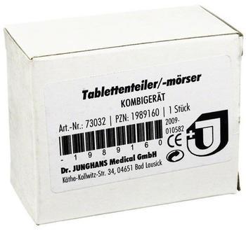 Dr. Junghans TABLETTENTEILER Mörser Kombi 1 St
