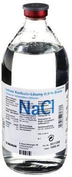 B. Braun Kochsalzloesung 0,9% Infusionslösung (1000 ml)
