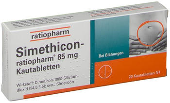 Simethicon Kautabletten (20 Stk.)