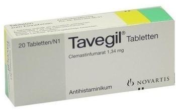 GlaxoSmithKline TAVEGIL Tabletten 20 St