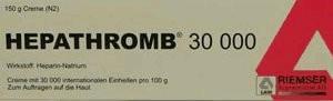 RIEMSER Pharma GmbH HEPATHROMB 30000 150g