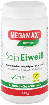 Megamax Soja Eiweiss 80+Methionin Vanille Pulver (400 g)