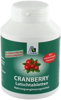 Avitale Cranberry Lutschtabletten (120 Stk.)