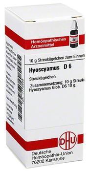 DHU Hyoscyamus D 6 Globuli (10 g)