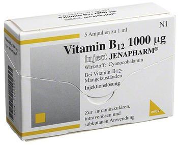 Mibe VITAMIN B12 1000UG INJECT JENAPHARM
