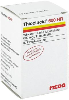 Meda Pharma GmbH & Co. KG Thioctacid 600 HR Filmtabletten 30 St.