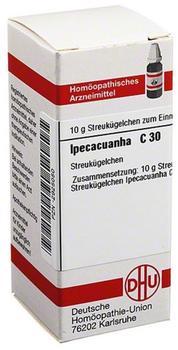 DHU-ARZNEIMITTEL IPECACUANHA C30 Globuli 10 g