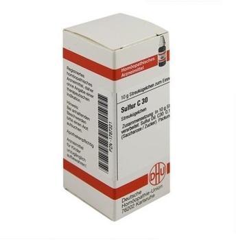 DHU Sulfur C 30 Globuli (10 g)