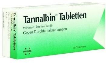 MEDICE TANNALBIN Tabletten 50 St.