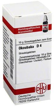 DHU Okoubaka D 4 Globuli (10 g)