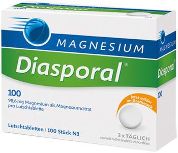 Magnesium Diasporal 100 Lutschtabletten (100 Stk.)