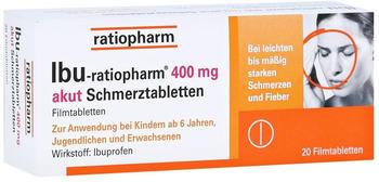 Ibu 400 Akut Schmerztabletten (20 Stk.)