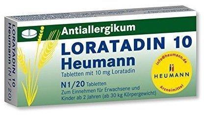 Loratadin 10 Tabletten (20 Stk.)