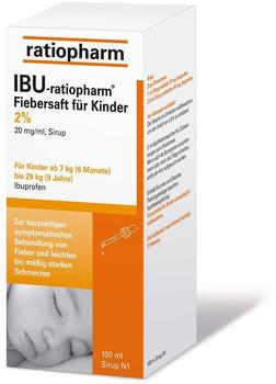 Ibu 2% Fiebersaft für Kinder (100 ml)