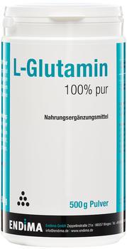 Endima L-Glutamin 100% Pur Pulver (500 g)