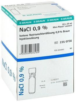 B. Braun Kochsalzloesung 0,9% Miniplasco Connect (20 x 20 ml)