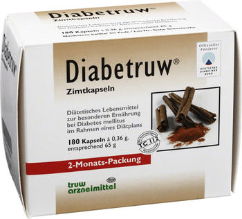 Med Pharma Service GmbH Diabetruw Zimtkapseln 180 St.