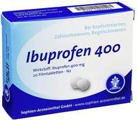 Sophien Arzneimittel GmbH Ibuprofen Sophien 400 Filmtabletten 20 St