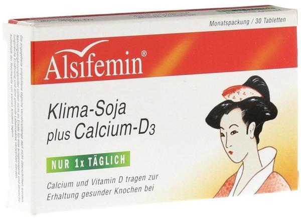 Alsifemin Klima-Soja plus Calcium D3 (30 Stk.)