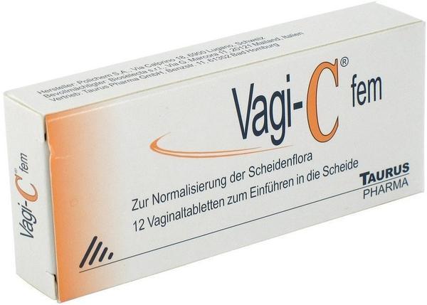 Aqeo Vagi-C fem Vaginaltabletten 12 St.