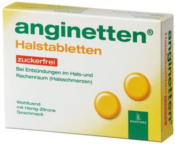 Anginetten Zuckerfrei Lutschtabletten (24 Stk.)