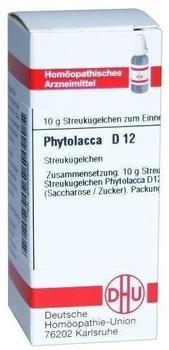 DHU Phytolacca D 12 Globuli (10 g)