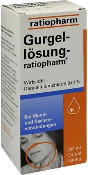 Gurgellösung (200 ml)
