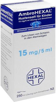 Ambrohexal Hustensaft für Kinder (250 ml)