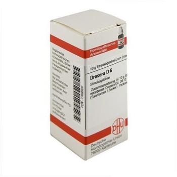 DHU Drosera D 6 Globuli (10 g)