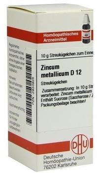 DHU Zincum Met. D 12 Globuli (10 g)