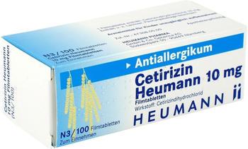 Heumann Pharma Cetirizin 10 mg Filmtabletten (100 Stk.)