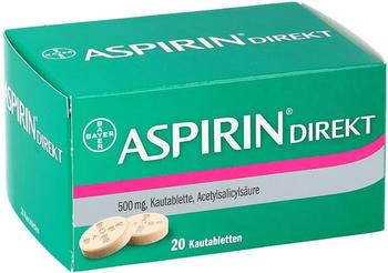 Aspirin Direkt Kautabletten (20 Stk.)